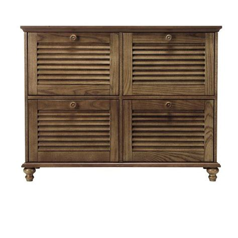 4 drawer wood file cabinets for the home home decorators collection shutter 4 drawer wood file