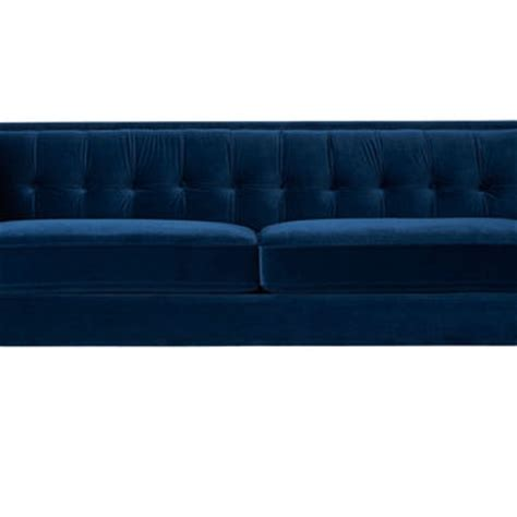 navy tufted sofa best velvet tufted sofa products on wanelo