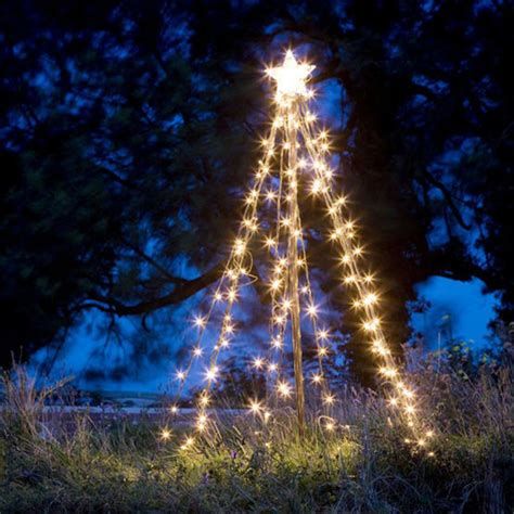 lighted trees for outside light up outdoor tree home decoration tricks