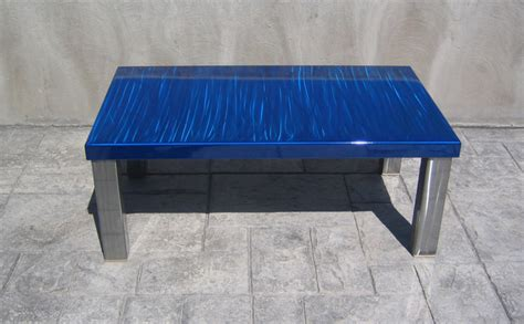blue coffee table modern blue coffee table