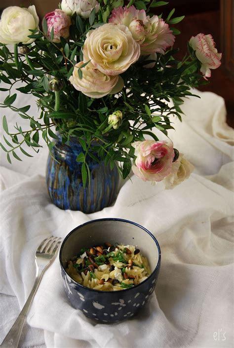 salade de p 226 tes 224 la feta et aux pignons recette tangerine zest