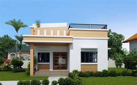 one storey house one storey house with roof deck