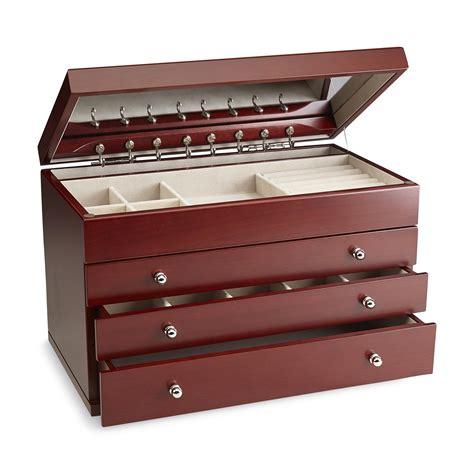 jewelry boxes smith wooden mirror jewelry box