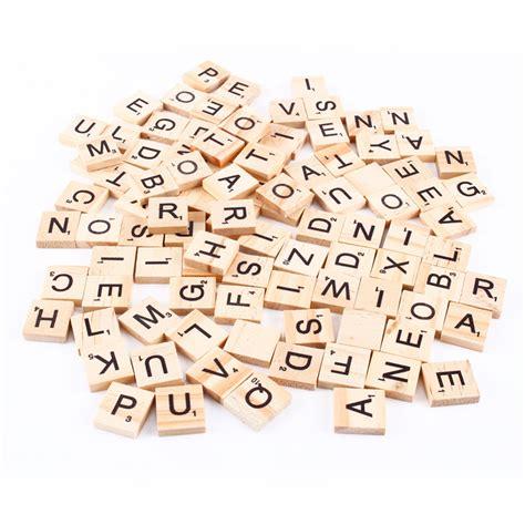 is vo a scrabble word 100pcs wooden scrabble letters scrapbooking wedding photo