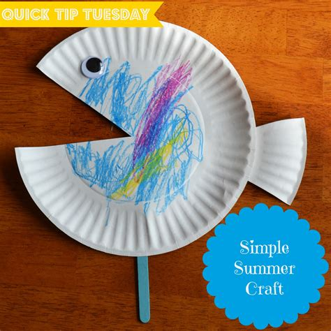 simple kid crafts east coast tip tuesday 5 simple summer craft
