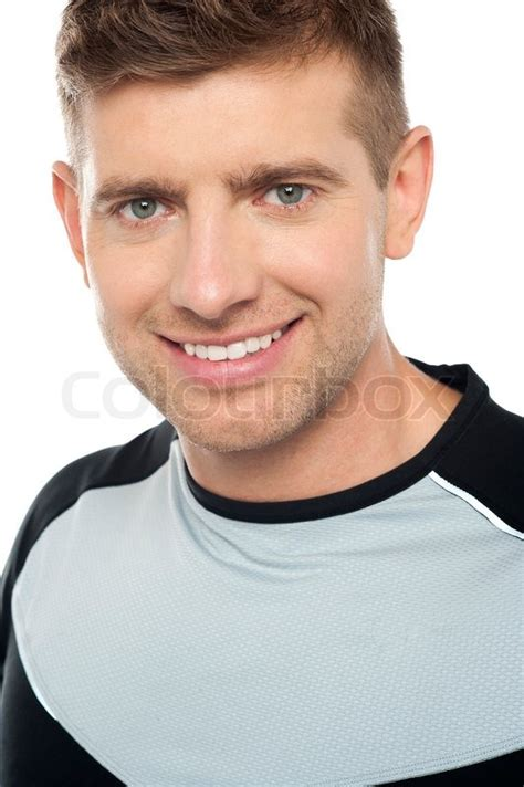 New Home Plans And Prices young caucasian male in sportswear closeup shot stock