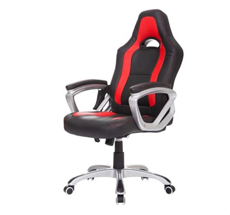 Massaging Computer Chair by Race Car Heated Office Chair Black Aosom Ca
