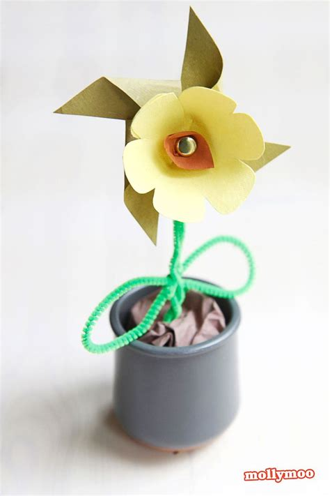 pinwheel craft for paper flower pinwheel craft for