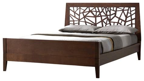 tree branch bed frame tree branch inspired solid wood bed frame cocoa