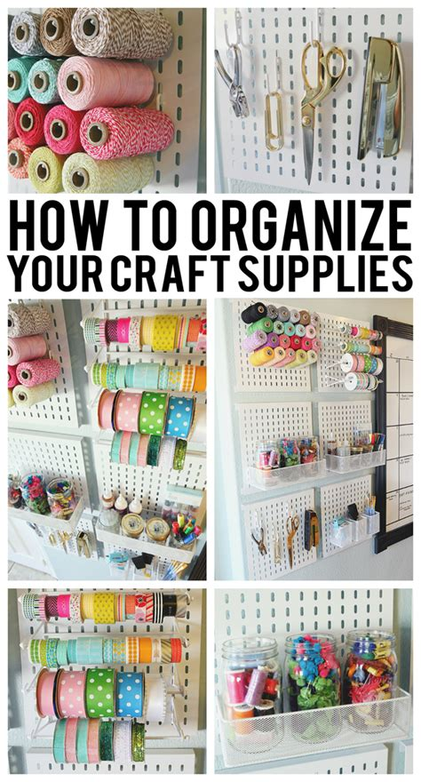 organizing craft supplies how to organize your craft supplies eighteen25