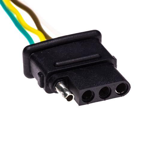 light connectors tc 4cfpt 4 wire trailer light connector plugs