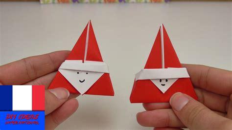 origami st origami en forme de st nicolas pliage pour le mois de