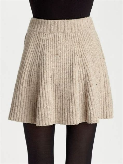 Best 25 Knit Skirt Ideas On Knitted Skirt