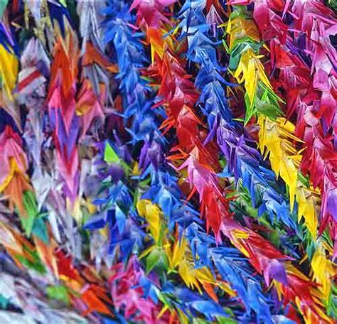 thousand origami cranes thousand origami cranes