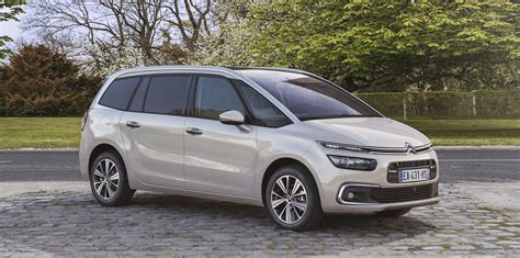 Citroen C4 Grand Picasso by 2017 Citroen C4 Picasso Grand Picasso Facelift Unveiled