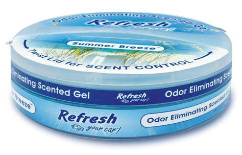 gel air freshener refresh new car smell gel can air freshener automotive