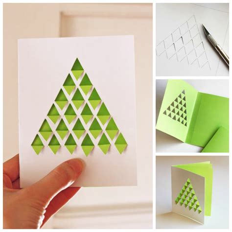 how to make a tree card diy tree card tutorials beesdiy