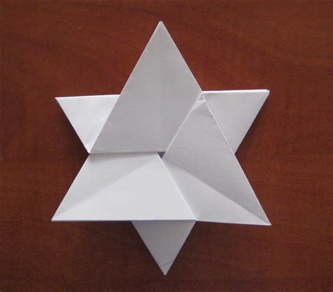a4 paper origami how to fold a 6 pointed from an a4 paper without