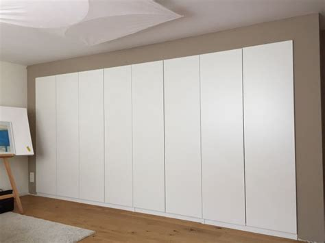 Different Kitchen Cabinets built in pax using dry wall technique