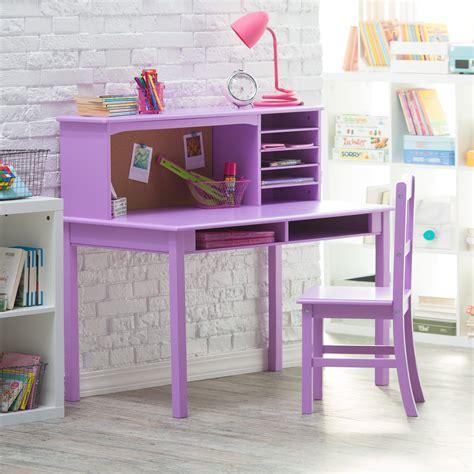 desk and chair sets guidecraft media desk chair set lavender desks