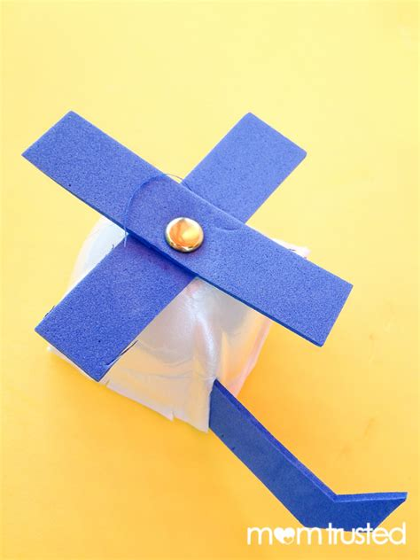 helicopter craft for recycled foam helicopter craftpreschool activities and
