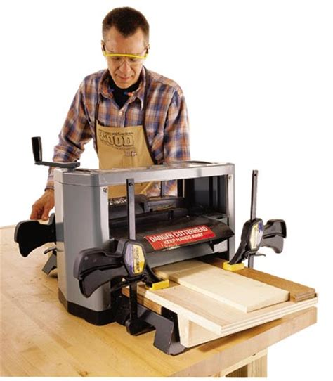 planer woodworking auxiliary planer bed