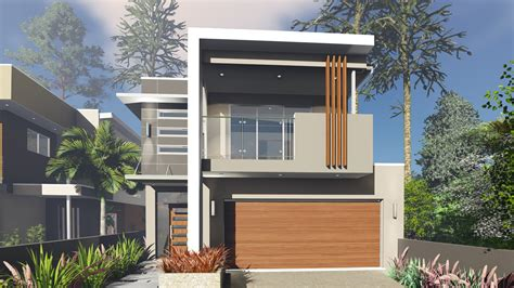 narrow lot home designs blueprint designs small lot house design to suit a 10 0