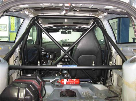 Roll Cage by C Alfa 147 Cage 6pt Bolt In Agi Roll Cages
