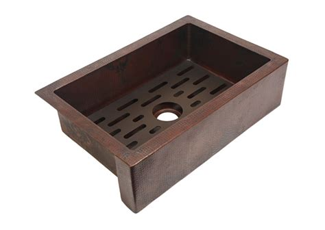 kitchen sink grate traxx grate for copper kitchen sink artisan crafted home