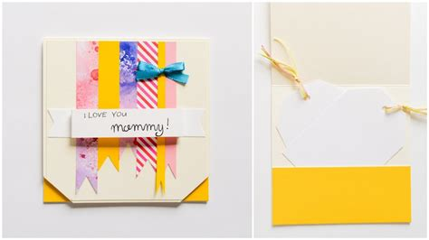 to make cards how to make greeting card s day step by step