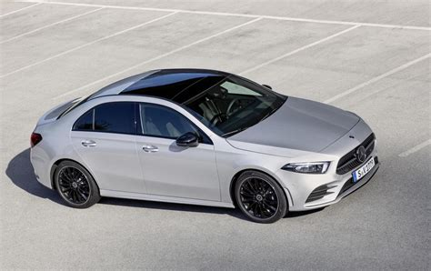 Mercedes A Class by 2019 Mercedes A Class Sedan Revealed Performancedrive
