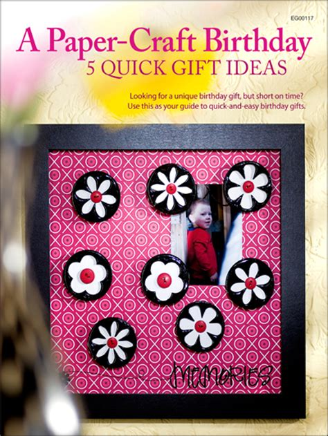 paper craft gift ideas a paper craft birthday 5 gift ideas