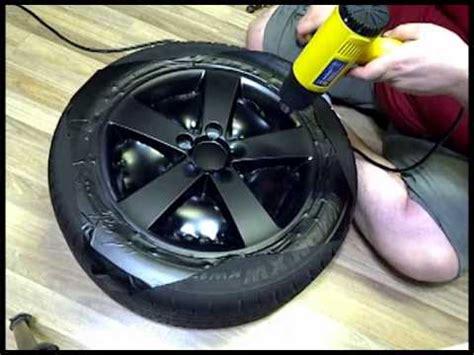 spray paint your rims black diy wrapping rims in matte black vinyl