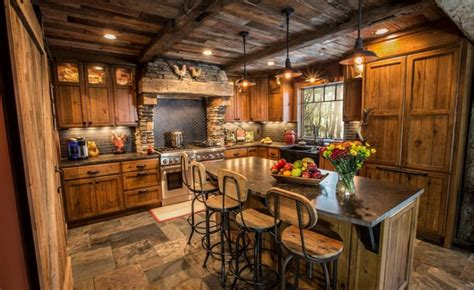 rustic kitchen design ideas 15 rustic style kitchen design ideas houz buzz