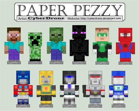 mine craft paper paper crafts template minecraft skins