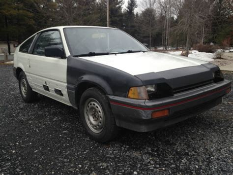 automotive air conditioning repair 1985 honda civic interior lighting 1985 honda civic crx hf 79k miles 5 spd manual no rust 1g crx rare weber carb classic honda