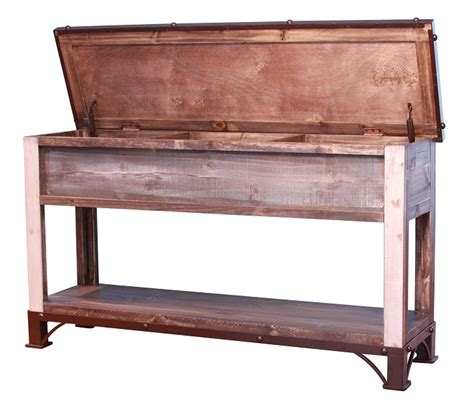 sofa storage table antique trunk storage sofa table