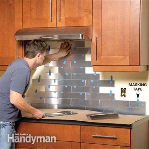 diy bathroom backsplash ideas 24 low cost diy kitchen backsplash ideas and tutorials