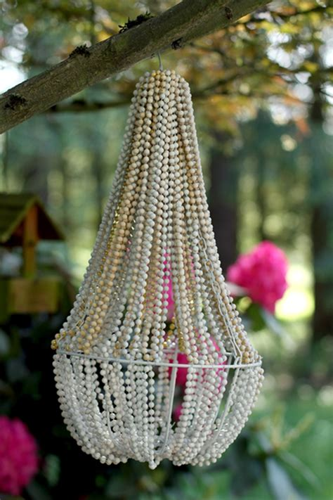 how to make a bead chandelier how to make beaded chandelier diy crafts handimania