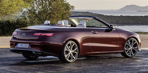 Mercedes Of by 2017 Mercedes E Class Cabriolet Revealed Photos