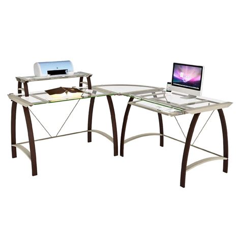 z line glass computer desk z line glass computer desk z line designs corner