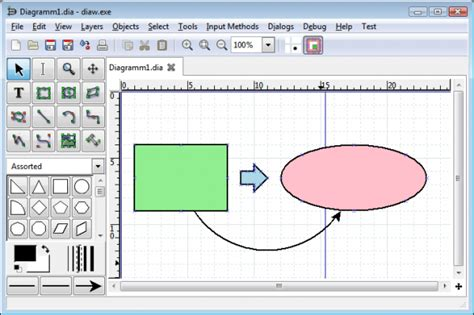 best program to draw microsoft visio alternatives free