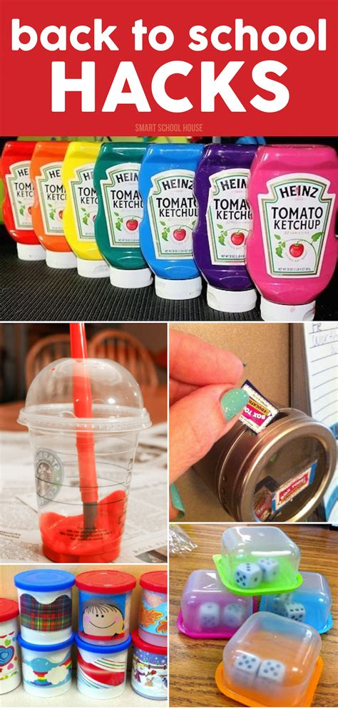 easy back to school crafts for back to school hacks