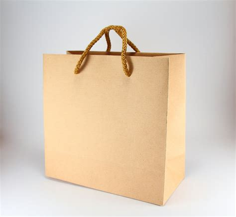 with paper bags 40 kraft brown paper bags with handles small square kraft