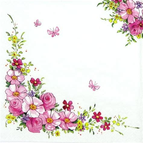 flower decoupage 17 best images about borders on floral border
