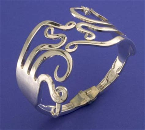 how to make silverware jewelry creative cutlery jewelry the blue door
