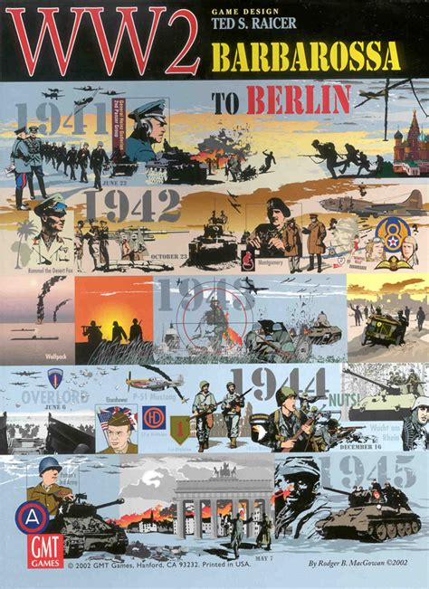 world page 2 gmt ww2 barbarossa to berlin cover