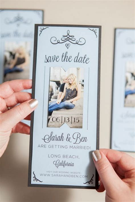 how to make a save the date card 20 and creative save the date ideas noted list