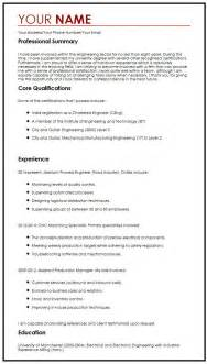 one page cv example myperfectcv