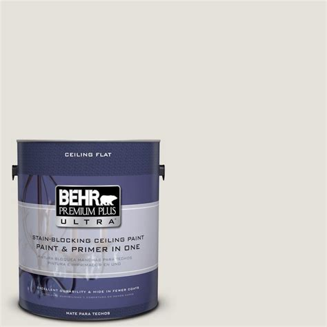 home depot behr ultra paint behr premium plus ultra 1 gal no ul260 13 ceiling tinted